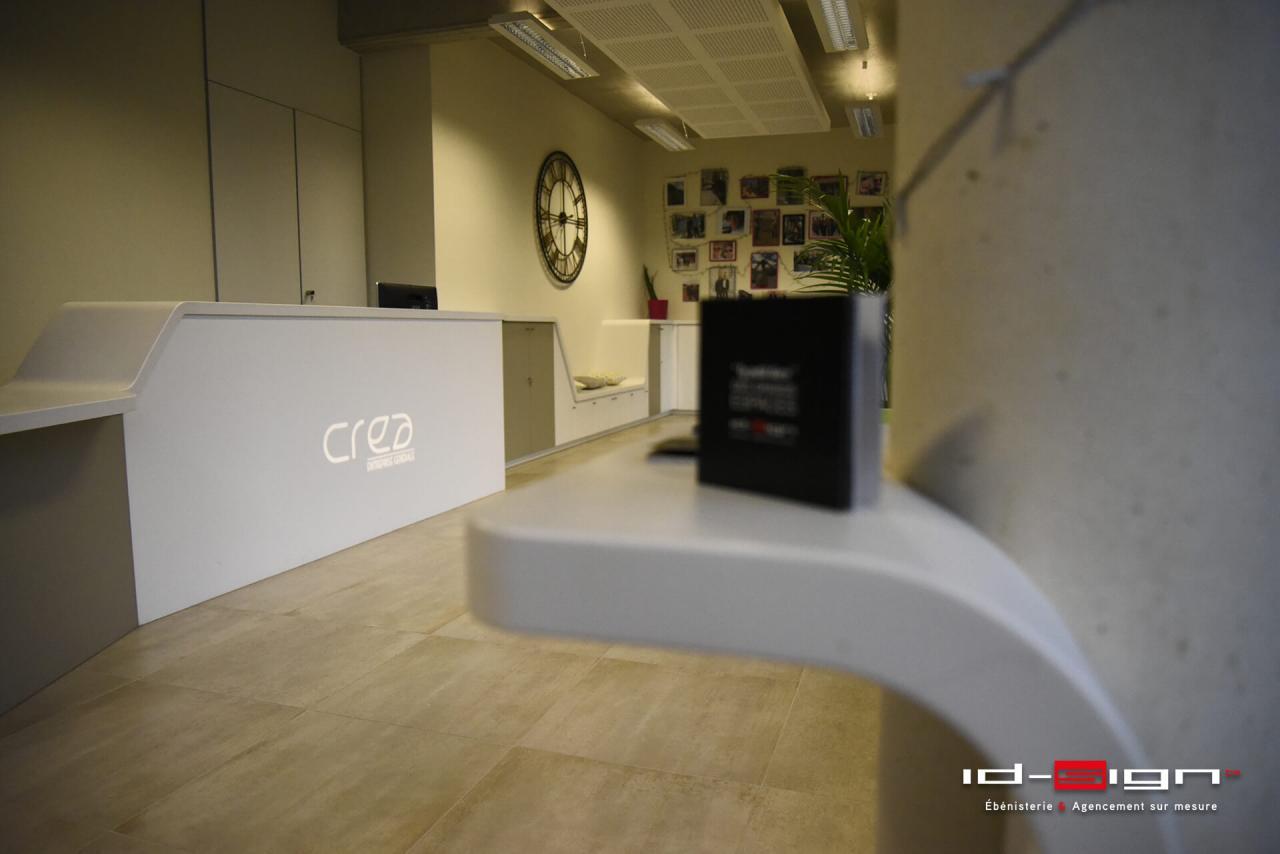 Espace d'accueil design