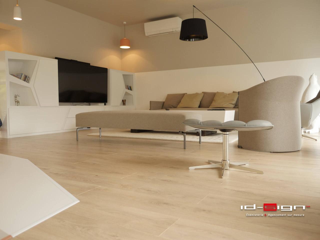 Salon moderne haut de gamme