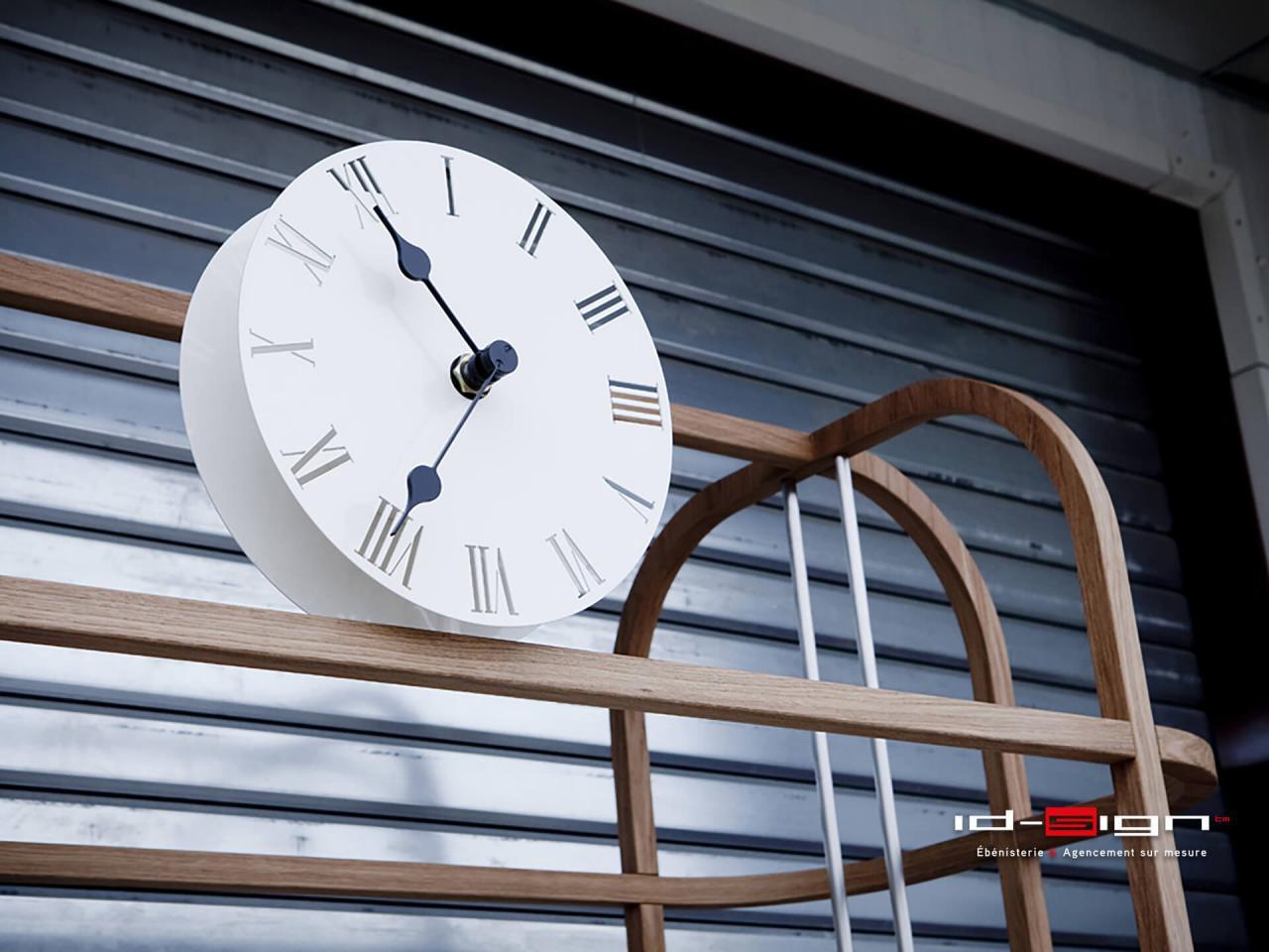Kiosque horloge
