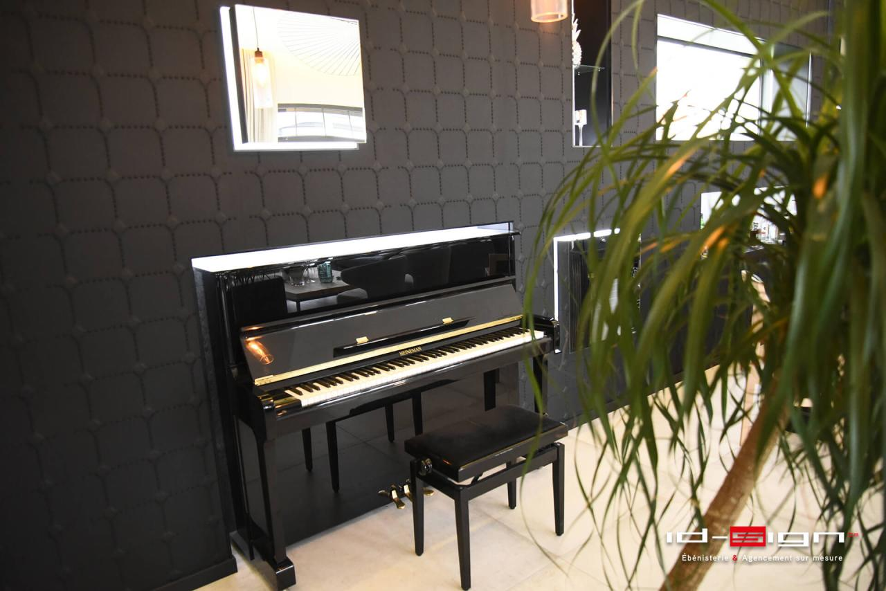 Ambiance de bar avec piano