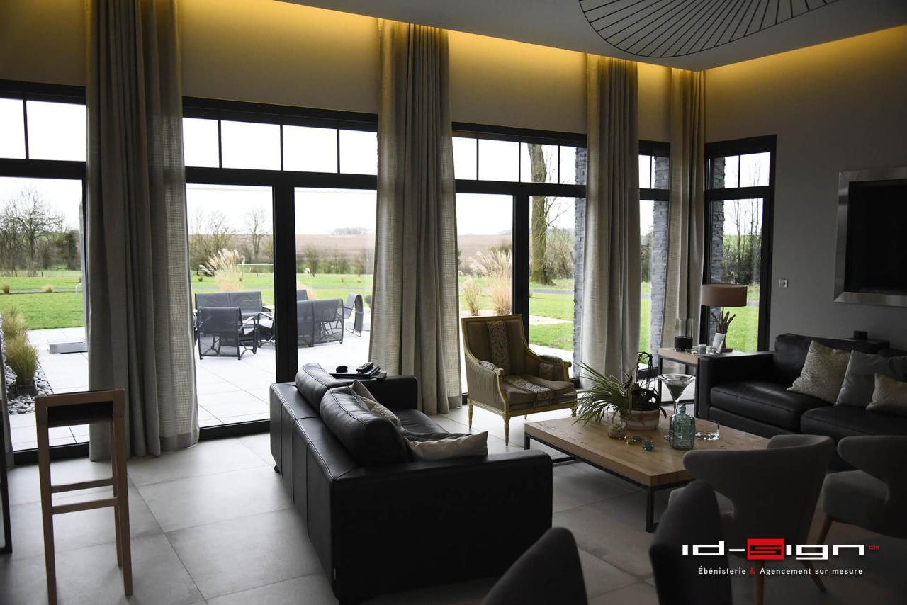 Salon moderne et design haut de gamme