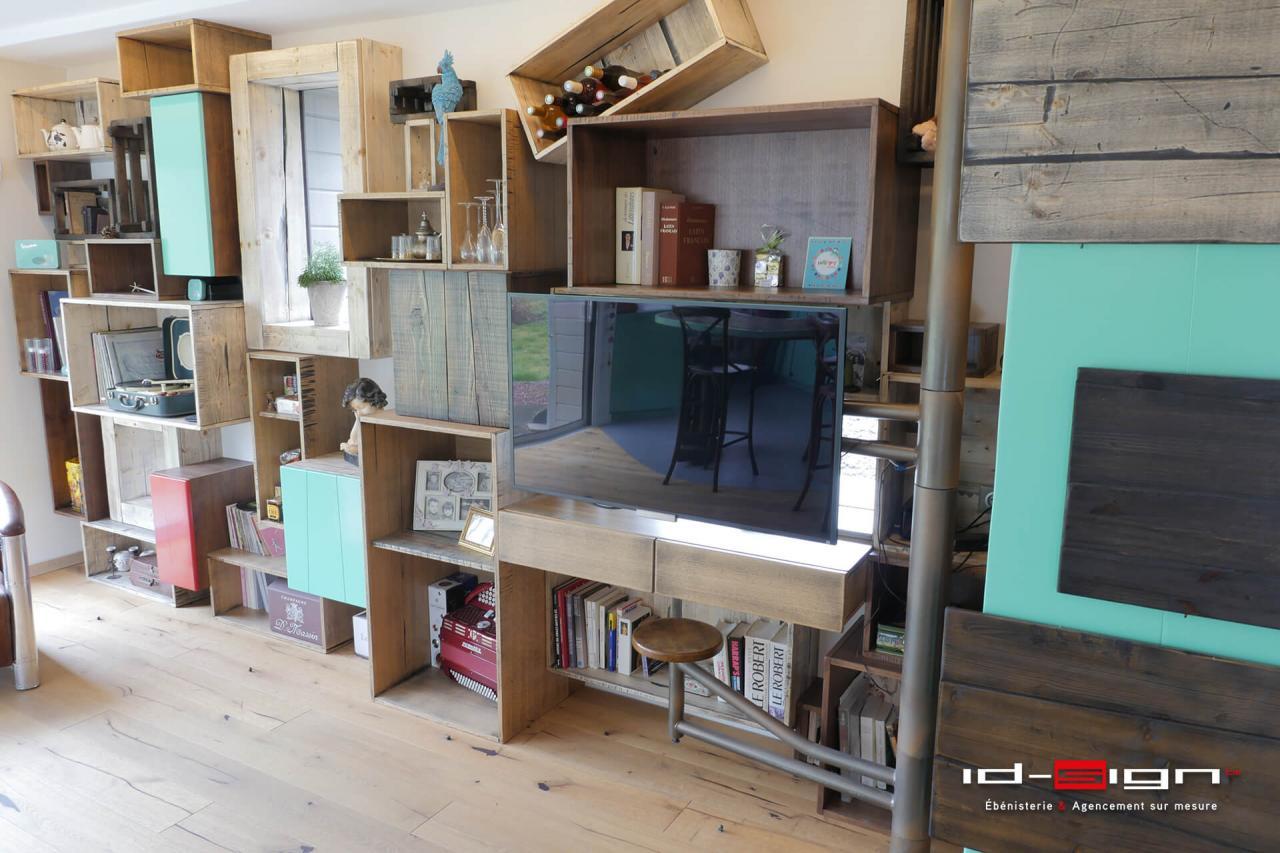 Salon rétro design haut de gamme