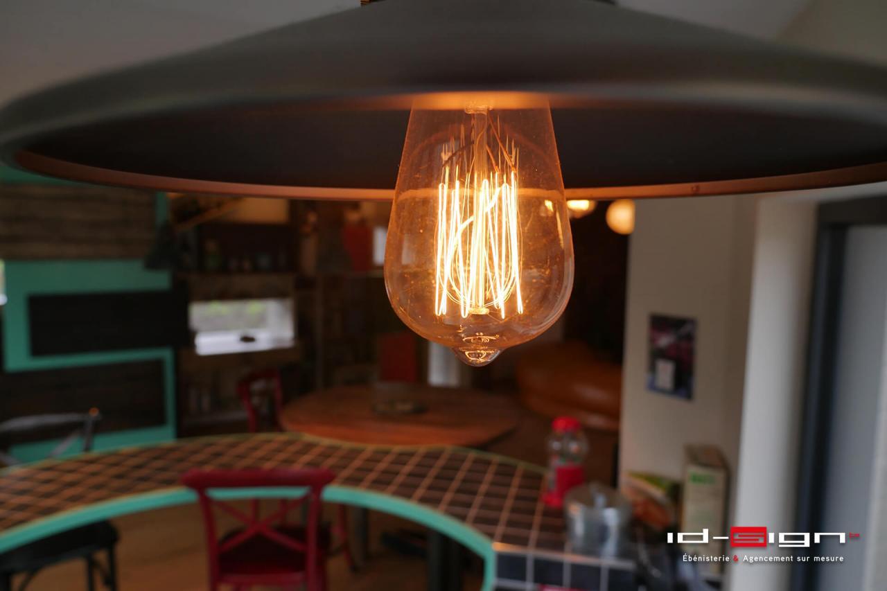 Eclairage vintage filament